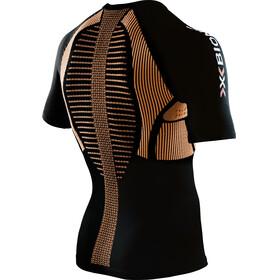 X-Bionic The Trick Running Shirt SS Men Black/Orange Shiny